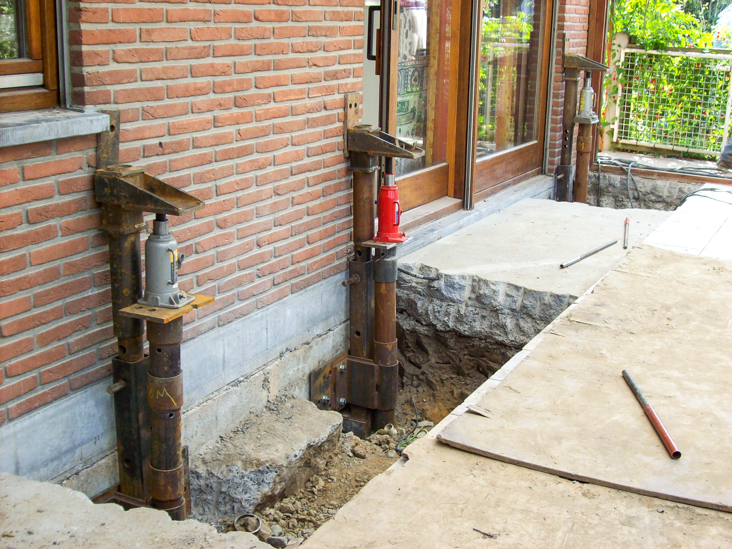 Foundation Repairs Underpinning Stabilization Existing - Under-pinning-foundations